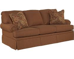 sleeper sofa slip cover jenna sofa sleeper queen broyhill broyhill furniture