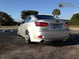 2010 lexus is 250 tires wheel offset 2010 lexus is 250 slightly aggressive dropped 3