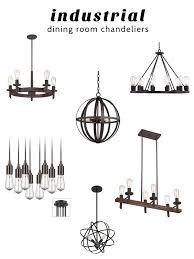 Modern Industrial Chandelier Impressive Ideas Industrial Dining Room Lighting Sweet Looking