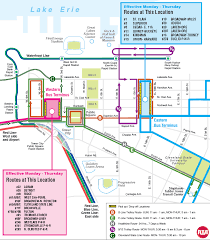 Cleveland State University Map Rta Extends Downtown Trolley Hours For Republican National