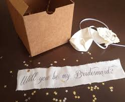 Gifts To Give The Bride From The Maid Of Honor Cute Ways To Ask People To Be Part Of Your Bridal Party