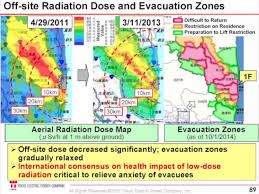 Fukushima Fallout Map by Nuclear Meltdown Releasing Radiation And Containing The Truth