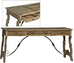 Reclaimed Wood Desk Spanish Style Reclaimed Wood Desk Free Shipping