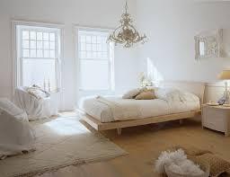 deco chambre et blanc meuble chambre blanc mobilier contemporain coucher bois blanche et