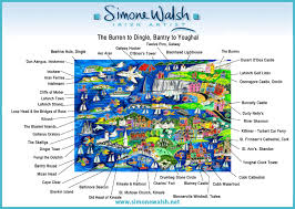 Dingle Ireland Map The Burren To Dingle Bantry To Youghal Simone Walsh