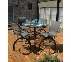 High Back Sling Patio Chairs Outdoor Patio Furniture Holly Hill Collection High Back Swivel