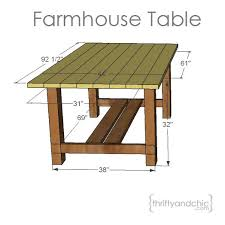 Woodworking Plans For Kitchen Tables by Best 20 Outdoor Table Plans Ideas On Pinterest U2014no Signup Required
