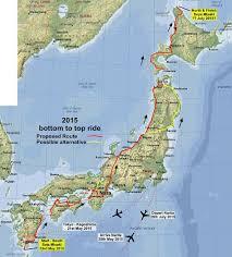 Map A Bike Route by Nigel U0027s 2012 Big Japan Bike Ride A Cycle Ride To The 4 Corners