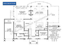 Lakeside Cottage House Plans by Walkers Cottage House Plan House Plans By Garrell Associates Inc