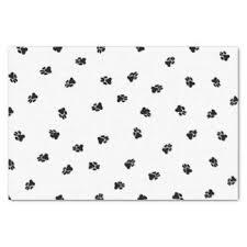 paw print tissue paper dog paw craft tissue paper zazzle