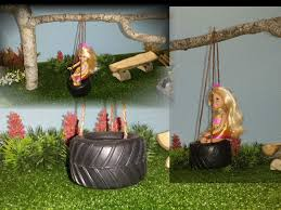 how to make a doll tire swing youtube