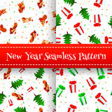 corgi wrapping paper new year wrapping paper texture seamless pattern postcard with