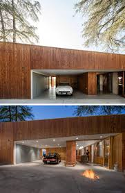 this hillside house in los angeles was built around a tree