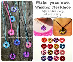 washer necklaces for kids to make vbs possible life preserver