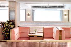 more pink interiors u2013 and we u0027re not complaining tate dining room