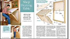 Drafting Table Design Plans Shop Drafting Table Finewoodworking