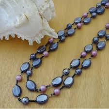 glass pearl necklace images Glass beads necklace jpg