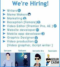Meme Makers - dopl3r com memes were hiring writers meme makers o marketing