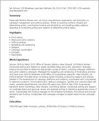 simple resumes exles political resume jcmanagement co
