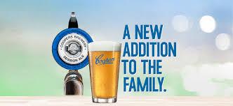 cartoon beer pint coopers brewery