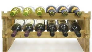 sorbus 3 tier stackable wine rack u2013 classic style wine racks for