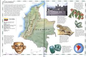 Map Of Colombia Colombia Mapfree Maps Of Us