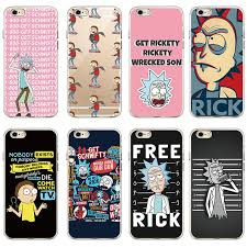 Meme Rick - rick and morty funny cartoon comic meme soft clear phone case cover