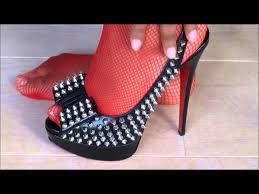queen of high heels christian louboutin peeptoe stiletto high