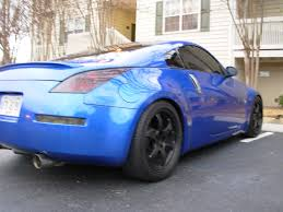 nissan 370z wheel spacers pic request track z with wheels spacers with stock rays my350z