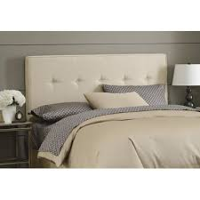Twin Headboard Size by Buy Button Tufted Upholstered Headboard Size Twin Finish Oatmeal