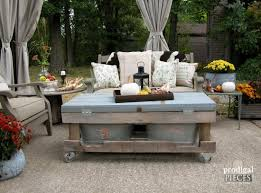 Diy Patio Coffee Table Our Patio Reveal Prodigal Pieces
