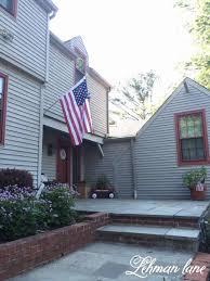 Porch Flags Exterior Splendid Front Porch Decoration Using Light Gray Wood