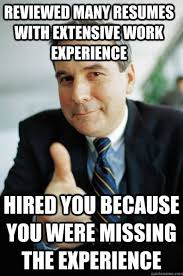 Intern Meme - awesome manager told me this on the last day of my internship