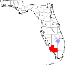 Southern Florida Map by Picayune Strand State Forest Wikipedia