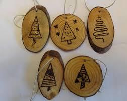 wood burned ornament etsy