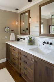 36 Beautiful Farmhouse Bathroom Design And Decor Ideas You Will Go Bathrooms With Bronze Fixtures