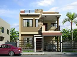 two story houses modern two storey house plans lesmursinfo one design floor