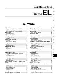2002 nissan quest electrical system section el pdf manual