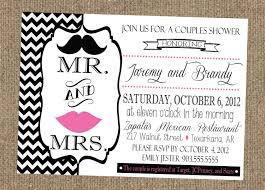 couples wedding shower invitation wording wedding shower