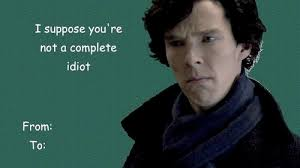 sherlock valentines day cards punny valentines cards cool cards sherlock and fandom