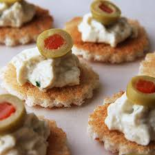 canape toast 20s anchovy olive canapes lost recipes found