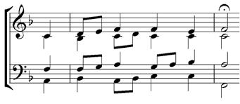 tom pankhurst u0027s choraleguide bach cadence fingerprints 8 7 8