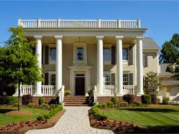 Symmetrical House Plans Greek Revival Architecture Hgtv