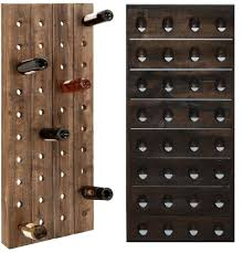 Wood Wine Cabinet Wine Rack Wall Mount Wine Rack Cabinet Unit Wooden Wine Rack