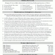 Sample Office Manager Resume by Pleasing Example Of Office Manager Resume Unthinkable Resume Cv