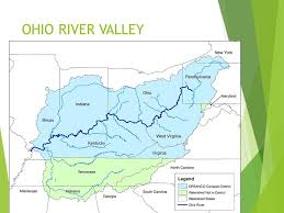 ohio river valley map and indian war plants the seeds for revolution ppt