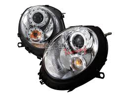 mini cooper halo led projector headlights gen2 r55