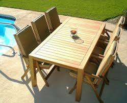 Teak Patio Dining Table Teak Patio Table Among The Most Effective Outdoor Furniture