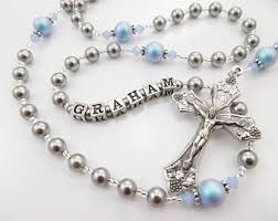 personalized rosary personalized rosary etsy