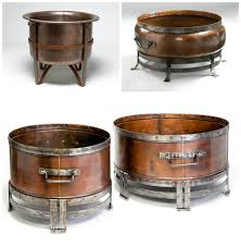 Copper Firepits Copper Pit Bowl Ship Design